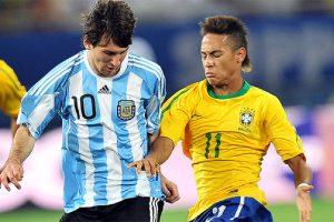 مدرب منتخب البرازيل يتحدث عن صعوبة إيقاف ميسي في مباراة الأرجنتين