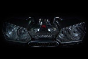 شركة Ixoost تصنع سماعات Esavox من سيارات لمبرجيني الإيطالية الخارقة