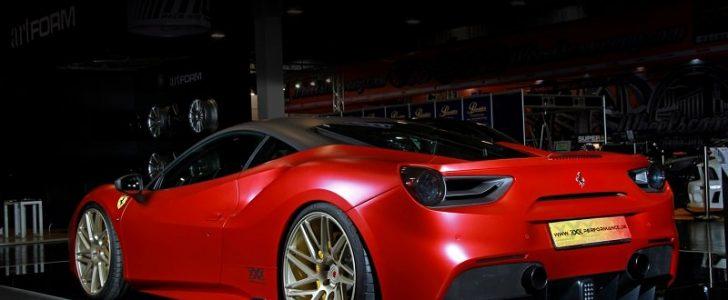 شركة Race تضع لمساتها المذهلة على سيارة فيراري 488 GTB لتصبح خارقة