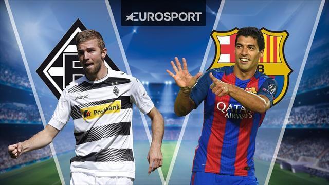 رابط مشاهدة مباراة برشلونة وبوروسيا مونشنغلادباخ بث مباشر اليوم 2016 مباراة برشلونة مباشر الان في دوري ابطال اوروبا
