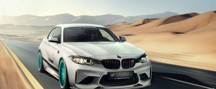 شركة هامان الألمانية تجري تعديلات على سيارة BMW M2 لتصبح أكثر تميزاً
