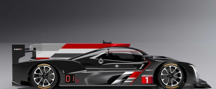 نهوض كاديلاك وإعلانها عن سيارة DPi-V.R القادمة بقوة في سباق دايتونا بالصور
