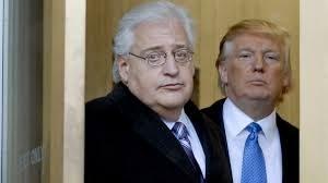 """""""فريدمان"""" سفير الرئيس الأمريكي المنتخب دونالد ترامب الكاره للعرب في إسرائيل"""