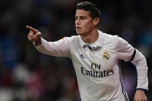 رودريجيز: أنا سعيد في ريال مدريد