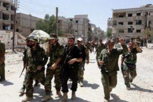 مدينة الباب السورية هدف مشترك للقوات التركية والسورية وتنظيم الدولة الإسلامية