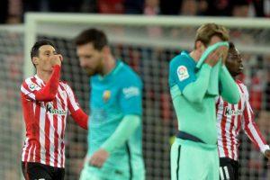 برشلونة يسقط أمام أتلتيك بلباو في ربع نهائي كأس ملك إسبانيا