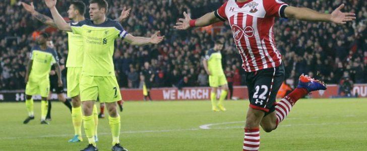 ليفربول يسقط أمام ساوثامبتون في كأس الرابطة الإنجليزية