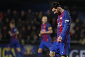 برشلونة يتعثر أمام فياريال ويضعف آماله في الحفاظ على لقب الليجا