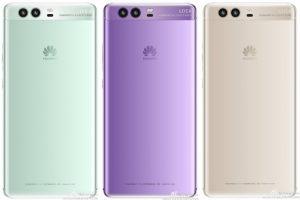 تقرير حديث بشأن إحتمالية حصول هاتف Huawei P10 على لون أخضر وبنفسجي