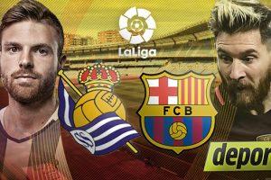 نتيجة مباراة برشلونة وريال سوسيداد اليوم 5-2 كاس ملك إسبانيا والقنوات الناقلة