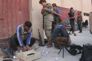 تناحر بين فصائل المعارضة السورية المسلحة، وتشكل تحالف جديد بديلا لجبهة فتح الشام