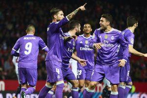 ريال مدريد يحطم رقم برشلونة بتعادل مثير مع إشبيلية ويتأهل لربع نهائي كأس ملك إسبانيا