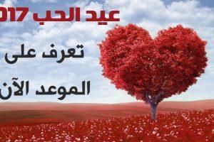 متى عيد الحب 2017 في اي يوم يوافق تاريخ عيد الحب المصري 2017 الموعد في شهر 11 نوفمبر Happy Valentines Day