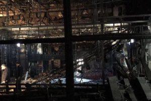 بالصور مسرح الليسيه بالقاهرة بعد الحريق الهائل الذي حدث صباح اليوم
