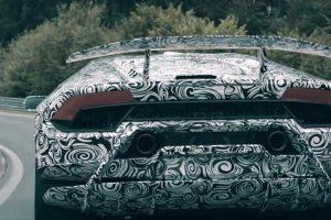 معلومات عن سيارة هوراكان بيرفورمانتي التي ستعلن عنها لمبرجيني في معرض جنيف للسيارات