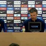 وقائع المؤتمر الصحفي لمدرب برشلونة لويس انريكي الخاص بمباراة الغد أمام أتلتيكو مدريد