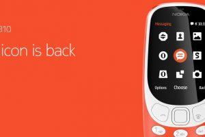 الاعلان بشكل رسمي عن هاتف نوكيا 3310 خلال معرض MWC 2017