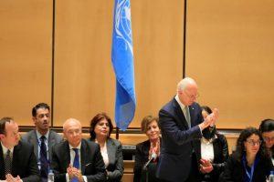 تفجير حمص يلقي بظلاله على مفاوضات جنيف، والمبعوث الأممي يحذر من تعطيلها