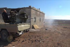 الجيش السوري الحر يسيطر بدعم تركي على عدة مواقع بالأحياء الغربية لمدينة الباب