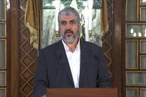 خالد مشعل يحمل الأطراف الفلسطينية الجزء الأكبر من استمرار حالة الإنقسام