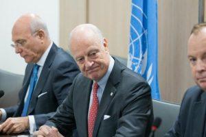 وفدي المعارضة السورية ونظام الأسد يتسلمان مقترحات المبعوث الأممي لحل النزاع القائم