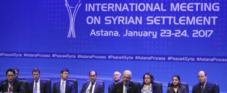 انطلاق محادثات أستانا غدا الأربعاء وسط خلافات تركية روسية وعدم تأكيد حضور وفد المعارضة