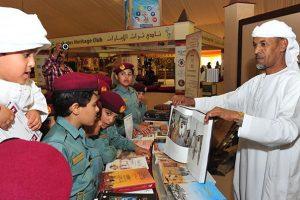 مهرجان سلطان بن زايد التراثي يستقطب اعداد كبير من الزائرين ضمن الجناح الثقافي