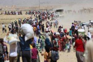 تقديرات أممية بنزوح نحو ربع مليون عراقي من الموصل بعد بدء عمليات استعادة الأحياء الغربية