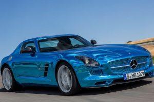 الشركة الألمانية مرسيدس فكرت في إطلاق سيارة كهربائية بالكامل من فئة AMG