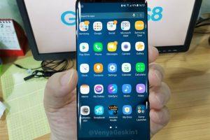 أحدث صورة واقعية تم تسريبها لواجهة هاتف Galaxy S8 الجديد