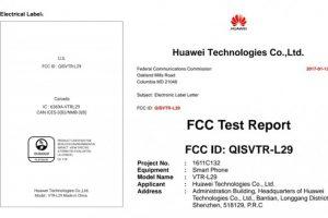 حصول هاتف Huawei P10 على مصادقة من قبل لجنة الاتصالات الأمريكية FCC