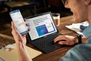 تطبيق Samsung Flow المدعوم بنظام Windows 10 سيتوفر في الحواسيب قريباً