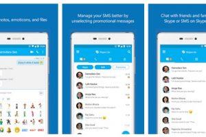 الاعلان عن تطبيق Skype Lite من قبل شركة مايكروسوفت