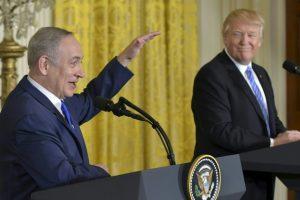 ترامب يكتفي بحث إسرائيل على كبح الأنشطة الاستيطانية دون التطرق لحل الدولتين