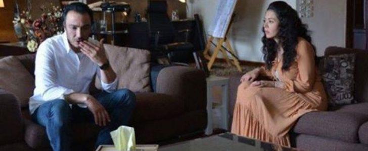 أحدث الصور من مسلسل بين عالمين بطولة طارق لطفي