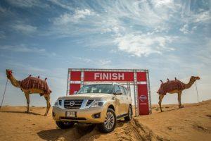 نيسان تطلق وحدة قياس قوة السيارات على الطرق الصحراوية بشكل علمي وإسمها قوة الجمل