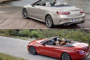مقارنة مثيرة بين مرسيدس E-Class كابريوليه و الفئة السادسة من BMW بالصور