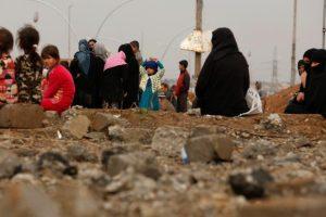نزوح أكثر من 125 ألف عراقي من الأحياء الغربية لمدينة الموصل بحسب وزارة الهجرة والمهجرين