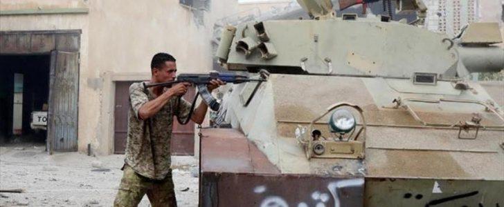 القوات الموالية لخليفة حفتر تعلن سيطرتها على مناطق جديدة بمدينة بنغازي