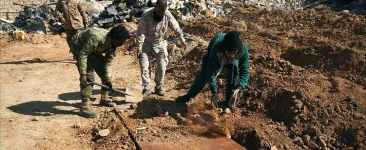 المجلس الأعلى للدولة في ليبيا يطالب بمحاكمة قوات حفتر لنبشهم قبور عناصر مجلش شورى بنغازي