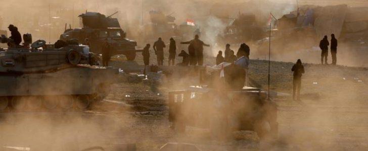 قوات الجيش العراقي تقترب من المناطق الوسطى بالشطر الغربي من مدينة الموصل