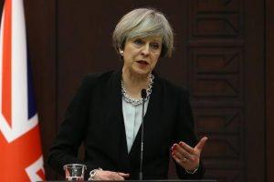 رئيسة الوزراء البريطانية تستقبل نظيرها القطري لتعزيز سبل التعاون الإقتصادي بين قطر ولندن