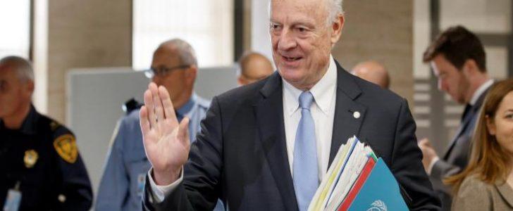 انتهاء الجولة الرابعة من مفاوضات جنيف حول الأزمة السورية بالإتفاق على جدول أعمال للجولات القادمة