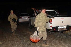 قوات الدرك التركية تنجح في العثور على قائد الطائرة الحربية السورية المحطمة