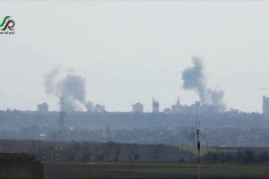 الهيئة الشرعية بحي الوعر في حمص السورية تعلق صلاة الجمعة بسبب قصف النظام السوري