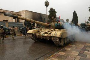 المقاومة العنيفة لتنظيم الدولة في حي باب الطوب تمنع القوات العراقية من استعادتها