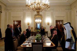 الأمير محمد بن سلمان يشيد بنتائج اللقاء التمهيدي مع الرئيس الأمريكي