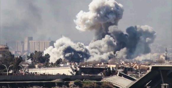 سقوط مدنيين في قصف جوي ومدفعي على أحياء مدينة الموصل القديمة