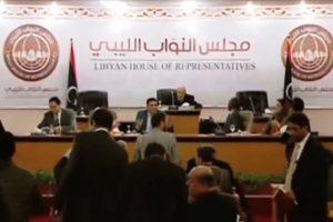 مجلس نواب طبرق يرد على أحداث الهلال النفطي بالإنسحاب من اتفاق الصخيرات
