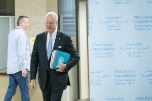 وصول أطراف الأزمة السورية إلى جنيف الخميس المقبل لبدء جولة جديدة من المفاوضات